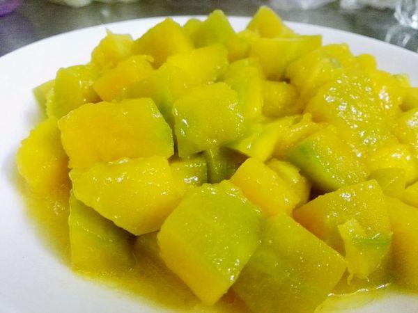 水煮姜丝南瓜的做法