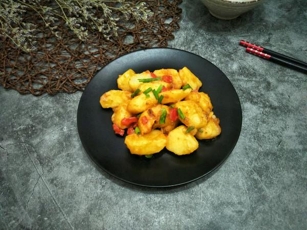 椒香土豆#春季减肥,边吃边瘦#