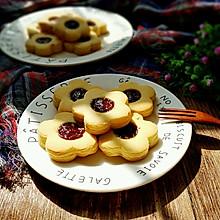 草莓果酱饼干#享美味#