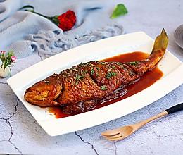 #晒出你的团圆大餐# 红烧大黄鱼的做法