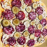 #硬核菜谱制作人#西部乡村披萨全麦版的做法图解7