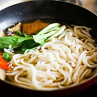 日式咖喱乌冬面的做法图解3