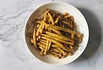 酱汁炒海鲜菇的做法
