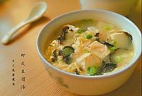 虾皮豆腐汤的做法
