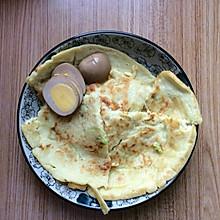 十分钟制作鸡蛋饼早餐
