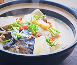乌鱼炖豆腐,鱼汤鱼渣都不剩的做法