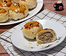 顺家私房菜——鲜肉榨菜月饼的做法