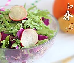 油醋汁蔬菜沙拉#舌尖上的春宴#的做法
