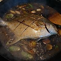 红烧鲳鱼的做法图解8