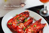 干烧番茄对虾王的做法