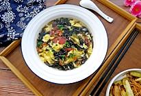 西红柿紫菜蛋花汤的做法