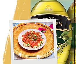 #新春美味菜肴#芋艿蒸香肠的做法