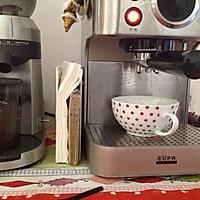 在家煮一杯好咖啡--拉花拿铁 Love的做法图解2