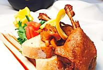 中西合璧之香橙鸭腿#铁釜烧饭就是香#的做法