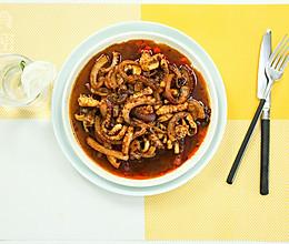 麻辣八爪鱼--简单的懒人版下饭菜的做法