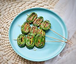 烤韭菜,从此不再迷恋烧烤摊#花10分钟,做一道菜!#的做法