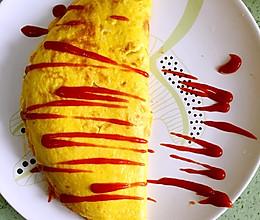 【日式蛋包饭】一个日本妹子教的配方的做法