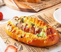 超受欢迎的葱香芝士面包,百吃不厌的做法