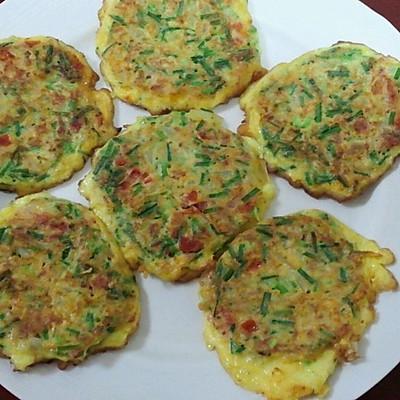 韩式煎鸡蛋饼