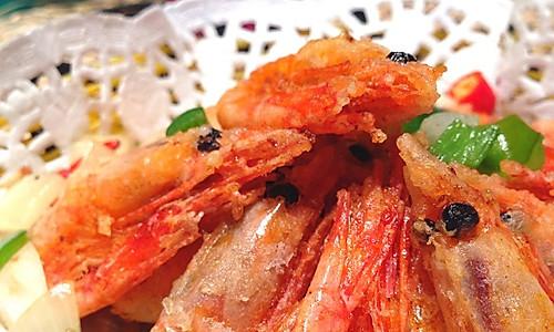 椒盐北极虾的做法