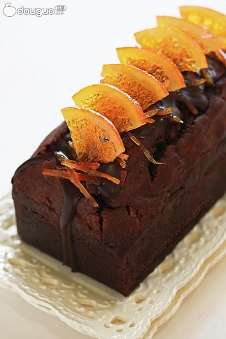 香橙巧克力磅蛋糕的做法