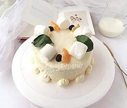 消耗淡奶油的蛋糕的做法