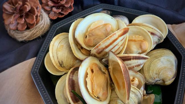 #以美食的名义说爱她#蚝油蛤蜊的做法