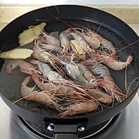 """盐水煮大虾#在""""家""""打造ins风美食#的做法图解4"""