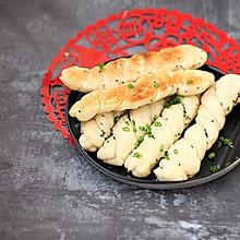 生煎卷子#年味十足的中式面点#