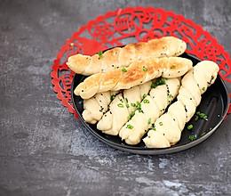生煎卷子#年味十足的中式面点#的做法