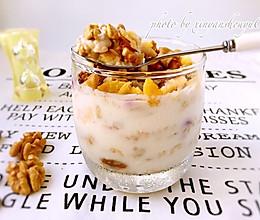 一分钟美味:水果麦片酸奶杯#健身修复食谱#的做法