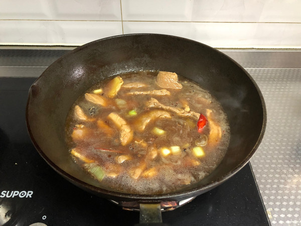 猪肉干(孜然味)
