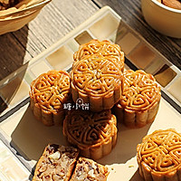 【叉烧云腿五仁月饼】&【五仁广式月饼】的做法图解23