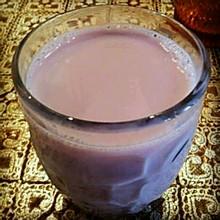 紫薯山药浆--可以瘦腿的美味