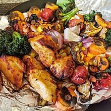 好吃不发胖的烤什锦➕鸡胸肉(空气炸锅)
