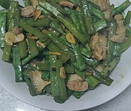 蛇豆炒肉的做法