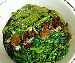 自制小咸菜(辣椒香菜)的做法