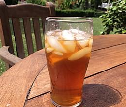 五分钟柠檬冰红茶的做法