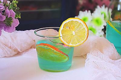 柠檬果干果露饮