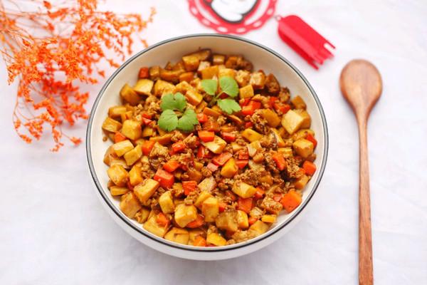 超下饭的肉末炒杏鲍菇的做法