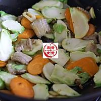 儿菜胡萝卜炒肉片的做法图解9