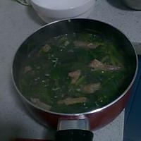 韭菜猪肝汤的做法图解2