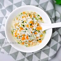 11M+杂蔬虾仁汤饭:宝宝辅食营养食谱菜谱的做法图解6