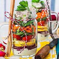 Salad in a Jar罐装沙拉の完美公式