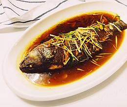 红烧白花鱼的做法