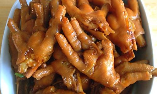 红烧卤鸡爪的做法