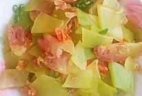#福气年夜菜#莴笋炒腊肠的做法