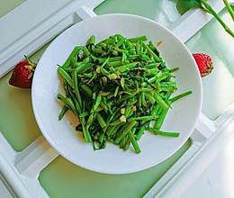#我们约饭吧#清炒空心菜的做法
