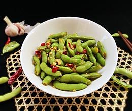 #爽口凉菜,开胃一夏!#凉拌毛豆的做法