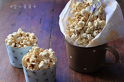 【焦糖奶油爆米花】——利仁侧开电饼铛试用之五